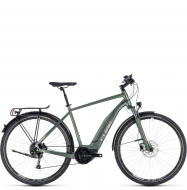 Электровелосипед Cube Touring Hybrid One 500 (2018) frostgreen´n´silver