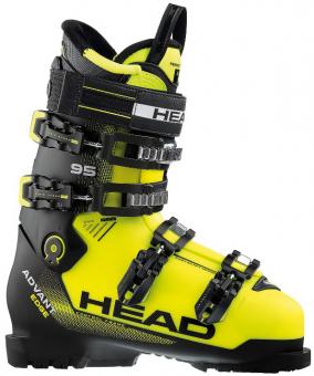 Горнолыжные ботинки Head Advant Edge 95 black/yellow (2018)
