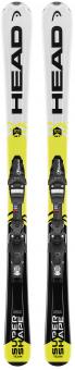 Горные лыжи Head Supershape Team + Крепления SX 7.5 AC (2018)