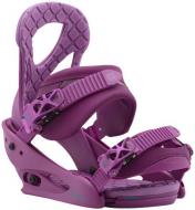 Крепления для сноуборда Burton Stiletto hot purple (2018)
