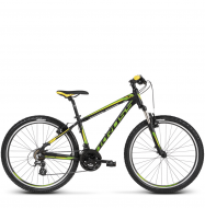 Велосипед Kross Hexagon 2 (2018) black/green/yellow matte