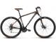 Велосипед Kross Hexagon 4 (2018) black/graphite/orange matte 1