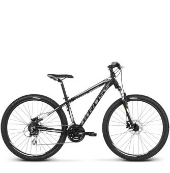 Велосипед Kross Hexagon 5 (2018) black/graphite/white matte