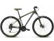 Велосипед Kross Hexagon 6 (2018) black/graphite/lime matte 1