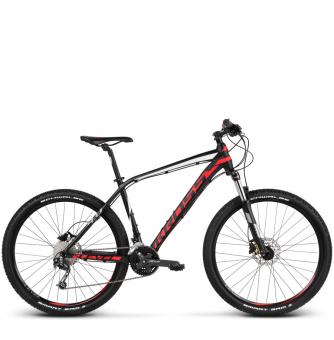 Велосипед Kross Level 4.0 (2018) black/red/white matte