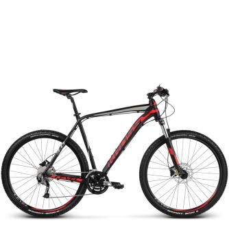 Велосипед Kross Level 3.0 (2018) black/red/silver matte