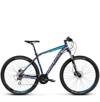 Велосипед Kross Level 2.0 (2018) navy blue/silver/blue glossy