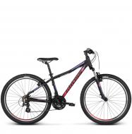 Велосипед Kross Lea 2.0 (2018) black/raspberry/violet matte