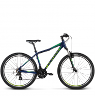Велосипед Kross Lea 2.0 (2018) navy blue/green glossy