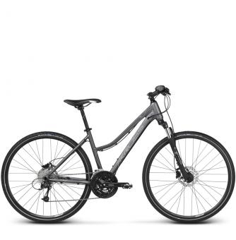 Велосипед Kross Evado 6.0 (2018) graphite/black matte