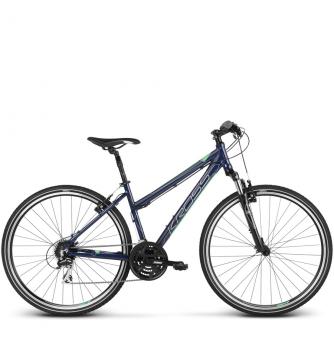 Велосипед Kross Evado 3.0 (2018) navy blue/green glossy