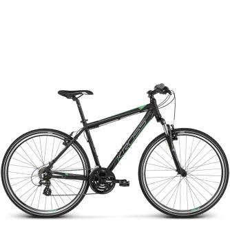 Велосипед Kross Evado 2.0 (2018) black/green matte