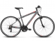 Велосипед Kross Evado 1.0 (2018) graphite/red matte 1