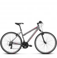 Велосипед Kross Evado 1.0 (2018) graphite/raspberry matte