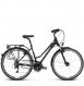 Велосипед Kross Trans 4.0 (2018) black/cream/silver matte 1