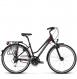 Велосипед Kross Trans 5.0 (2018) black/raspberry matte 1