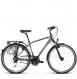 Велосипед Kross Trans 5.0 (2018) graphite/silver glossy 1