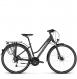 Велосипед Kross Trans 8.0 (2018) black/violet/silver matte 1