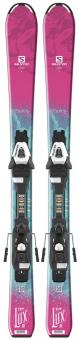 Горные лыжи Salomon E QST LUX Jr S + EC5 (2018)