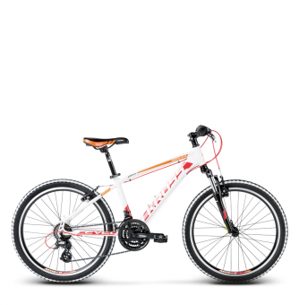 Подростковый велосипед Kross Level Replica (2018) white/red