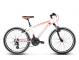 Подростковый велосипед Kross Level Replica (2018) white/red 1
